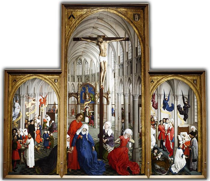 MADRID. 23 de marzo 2015. Presentación de la exposición de Rogier van der Weyden en el Museo del Prado. Foto Oscar del Pozo ARCHDCMADRID. 23-3-15. A EXPOSICION SOBRE ROGIER VAN DER WEYDEN EN EL MUSEO DEL PRADO. FOTO: JOSE RAMON LADRA.