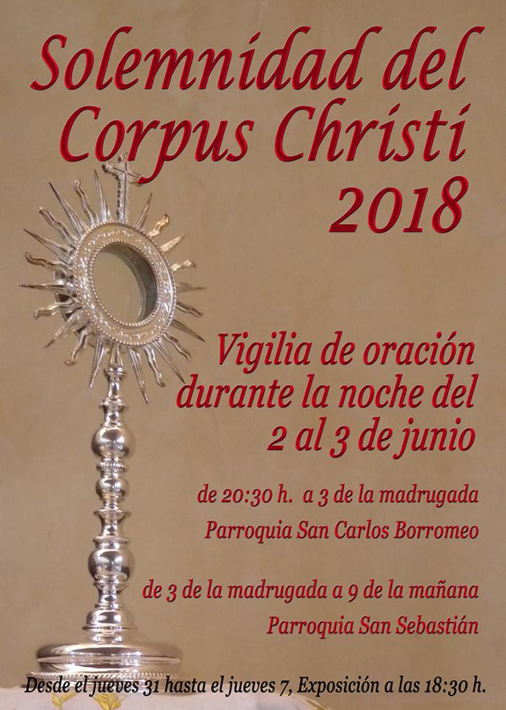 Celebración del Corpus Christi 2018